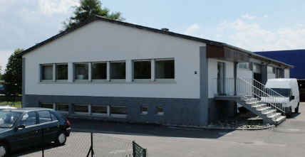 Our building which shelters the stock of natural intestines  in Alsace, close to Strasbourg - Illkirch Graffenstaden